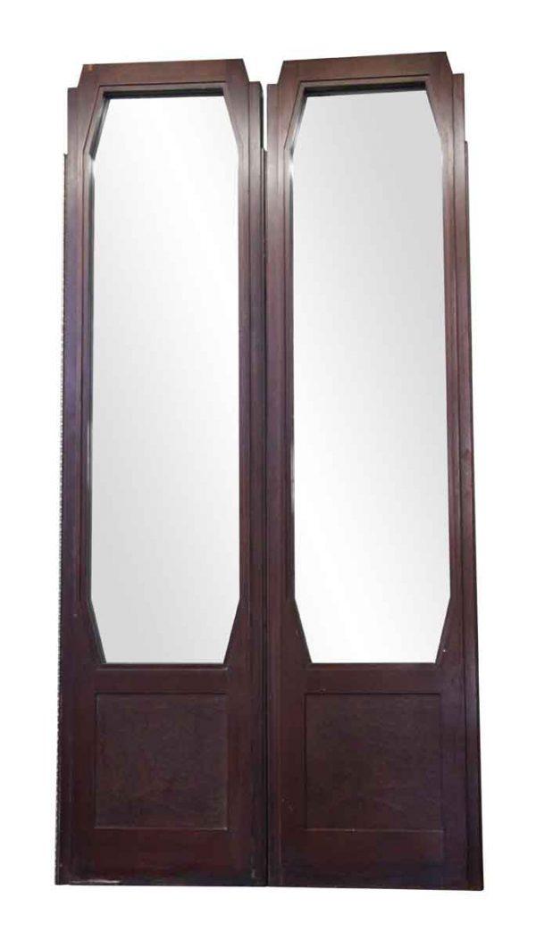 Entry Doors - Art Deco Style Walnut Door from The Waldorf Astoria