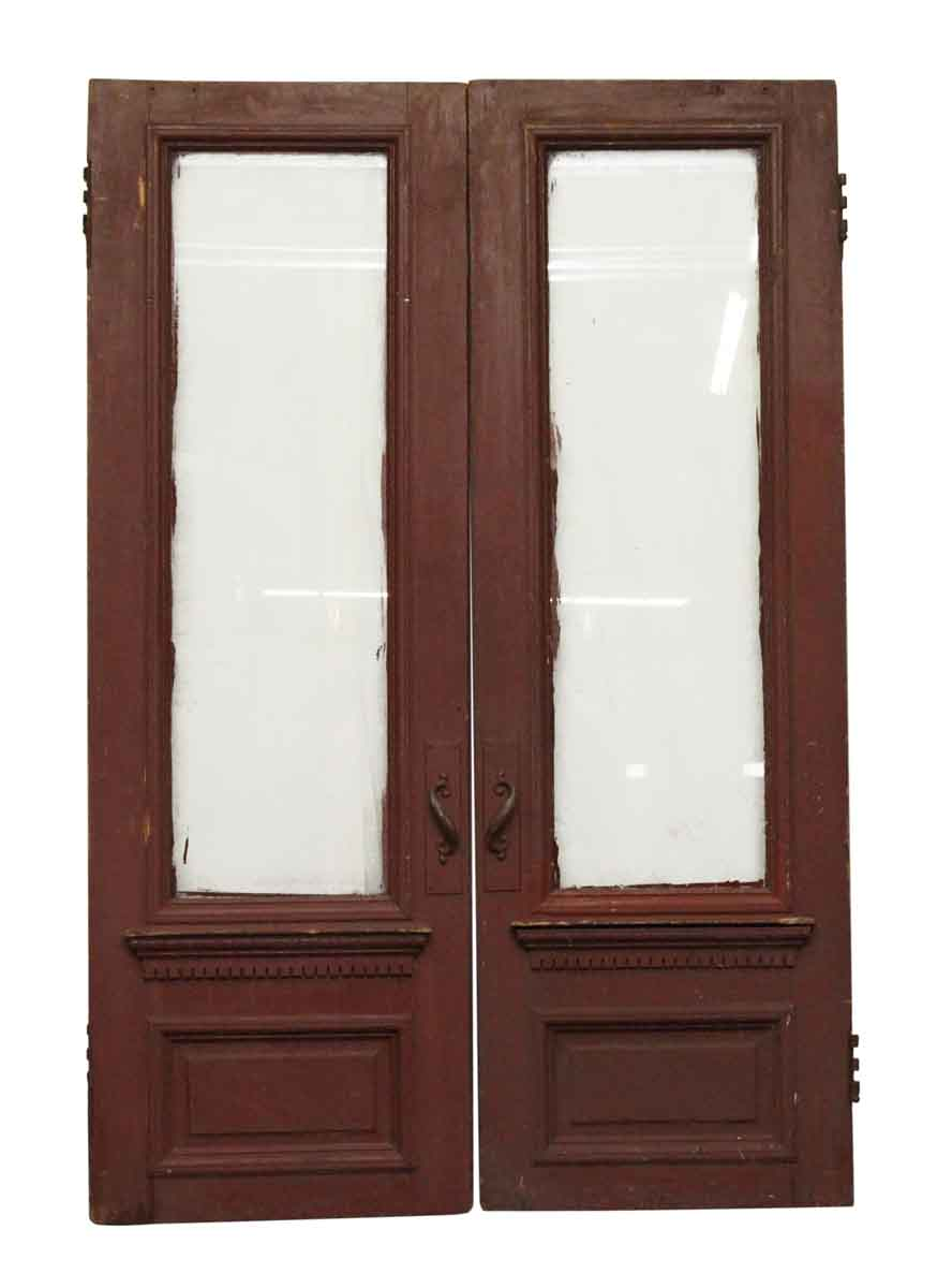 Entry Doors Brownstone Double With Gl Panels