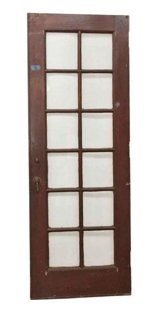 12 Lite Wooden Antique Door