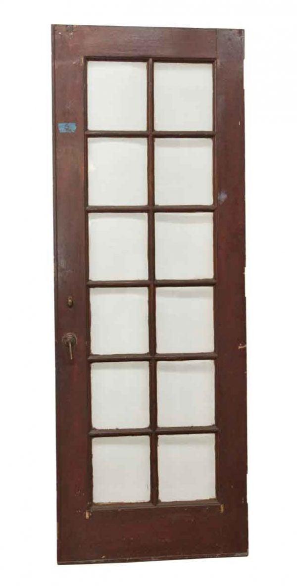 French Doors - 12 Lite Wooden Antique Door