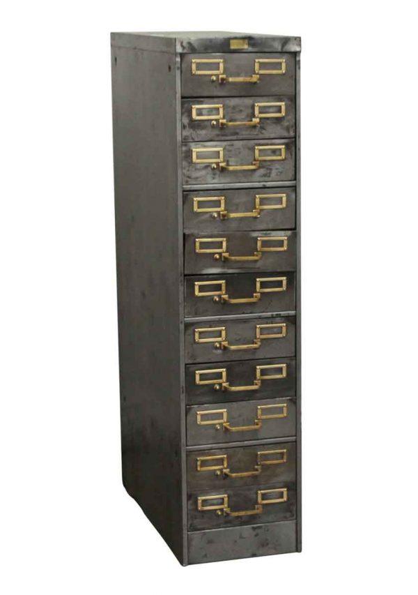 Office Furniture - Steel 11 Drawer Filing Cabinet