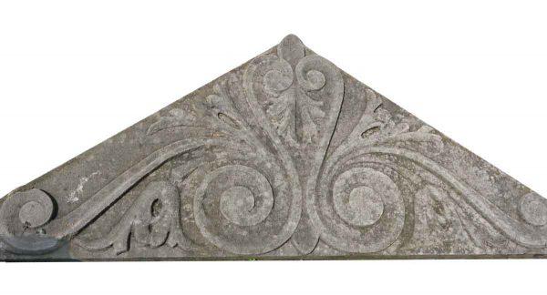 Pediments - Carved Limestone Pediment