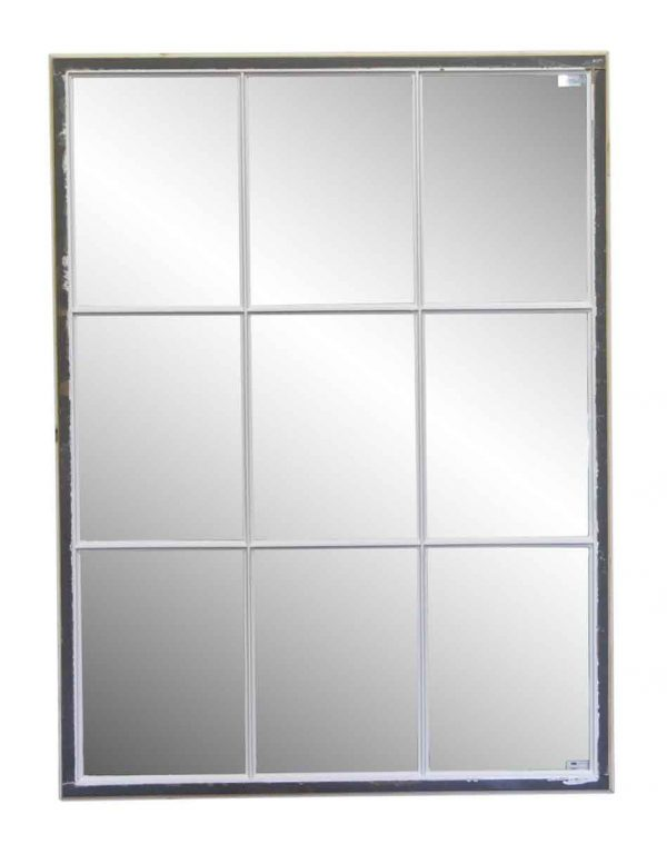 Reclaimed Windows - Salvaged 9 Pane Divided Light Window