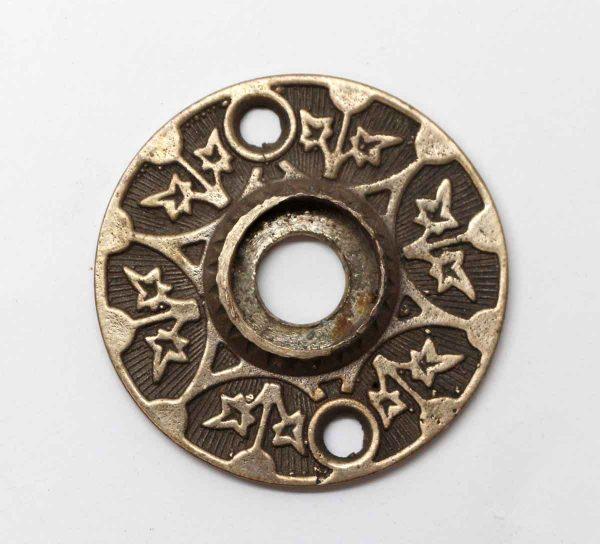 Rosettes - Antique Decorative Bronze Leaf Rosette