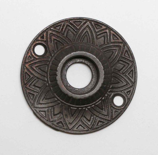Rosettes - Iron Antique Geometric Detailed Rosette