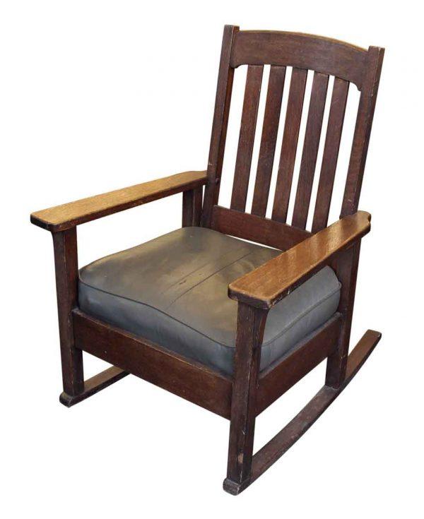 Seating - Stickley Oak Rocking Chair