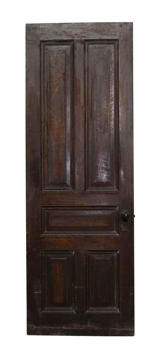 Standard Doors - American Chestnut Door with Five Raised Panels