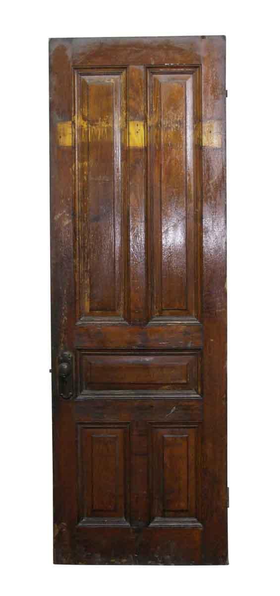 Standard Doors - American Chestnut Five Panel Door with Hardware