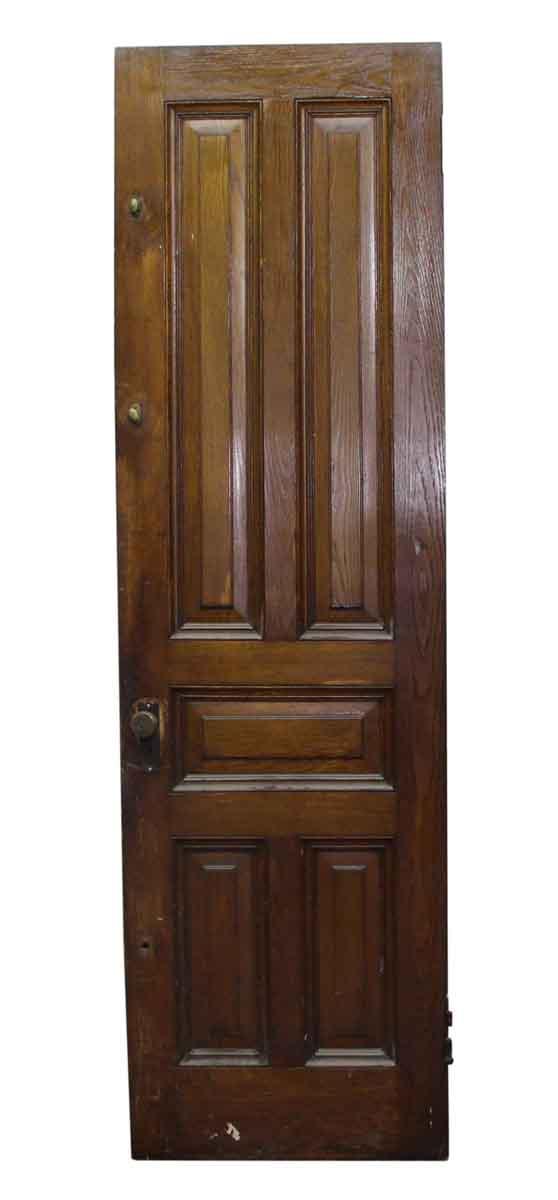 Standard Doors - Chestnut Tall Narrow Brownstone Parlor Door