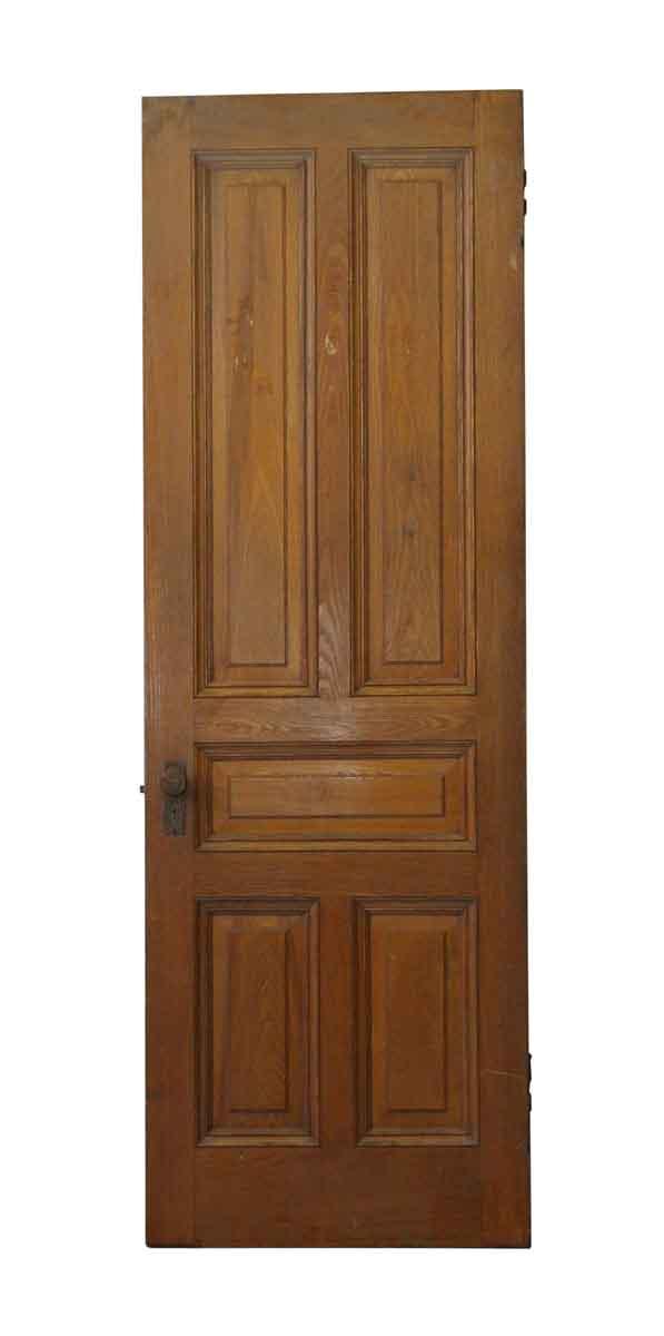 Standard Doors - Single Raised Panel American Chestnut Door