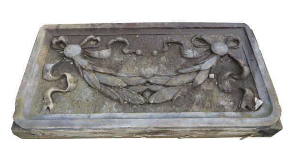 Stone & Terra Cotta - Brownstone Ribbon and Wreath Frieze