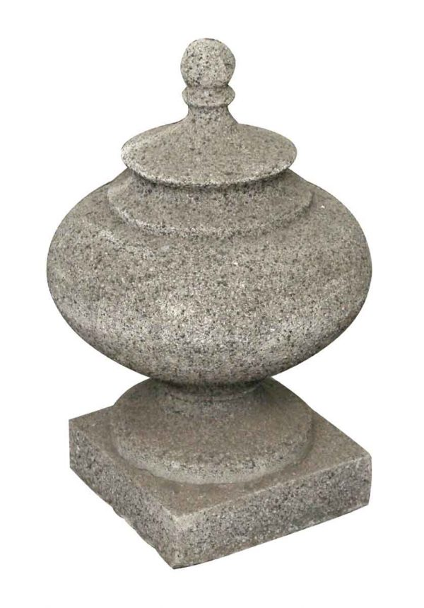 Stone & Terra Cotta - Salvaged Large Stone Finial