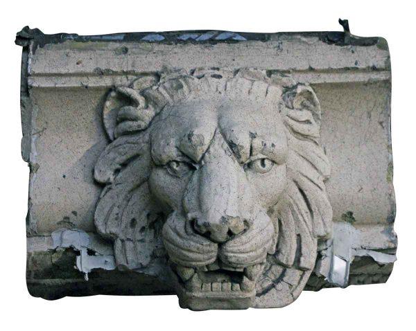 Stone & Terra Cotta - Salvaged Terra Cotta Lion Head
