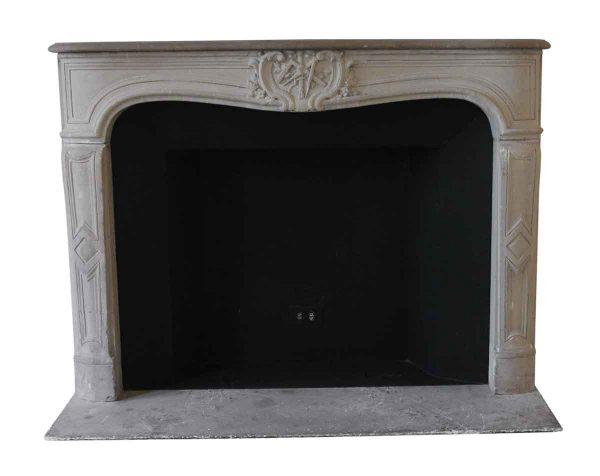 Waldorf Astoria - Waldorf Astoria Louis XV French Carved Limestone Mantel