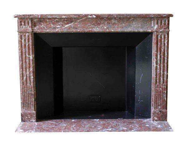 Waldorf Astoria - Waldorf Astoria Louis XVI Regency Brown Marble Mantel