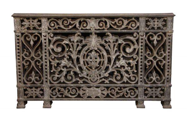 Balconies & Window Guards - Heavily Cast Decorative Iron European Balcony Railing