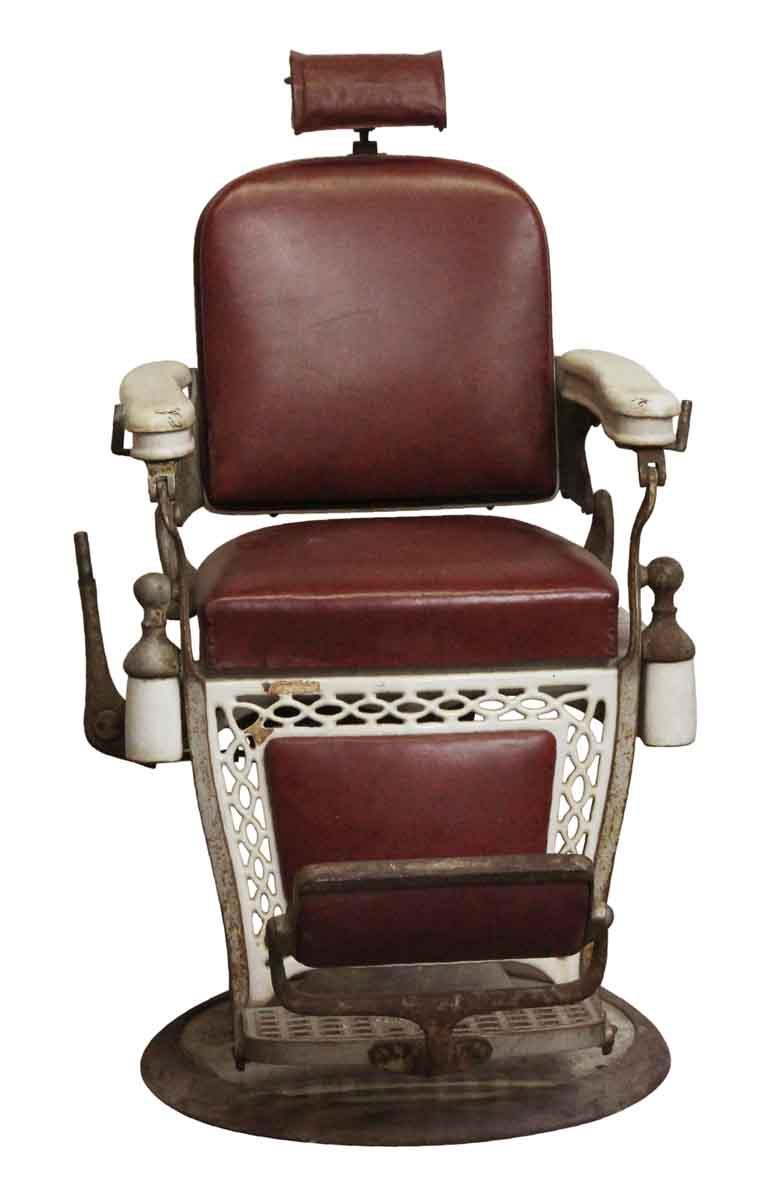 Old Barber Chairs >> Antique Emil J Padair Vintage Barber Chair