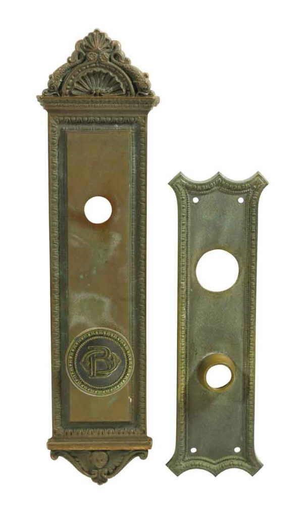 Door Knob Sets - Antique Baltimore & Ohio Railroad Entry Door Knob Set