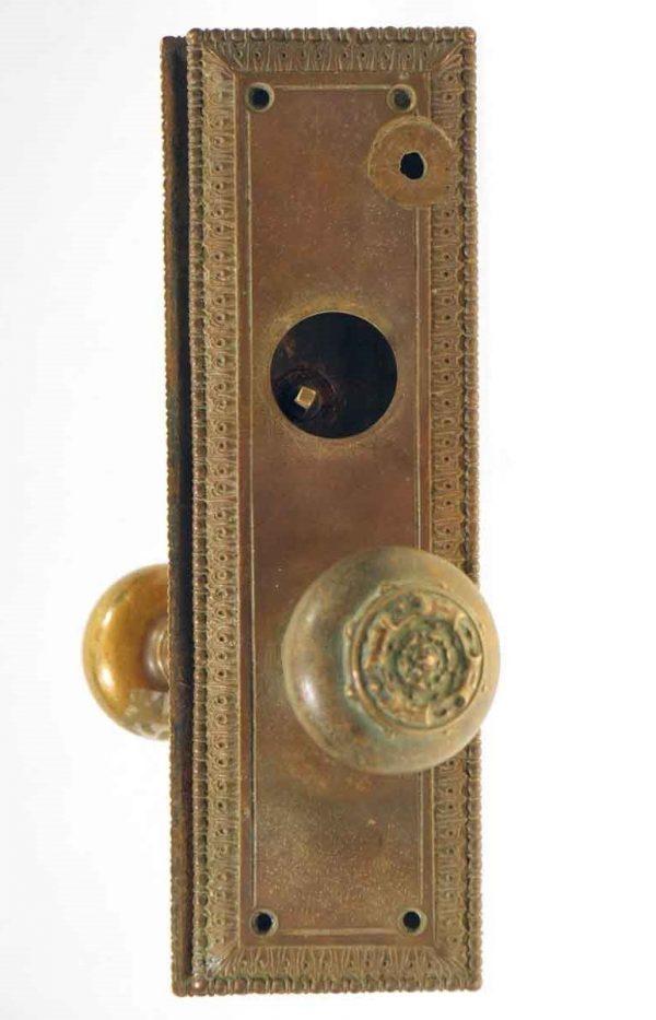 Door Knob Sets - Bronze Sargent Fontenac Door Knob Set