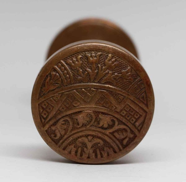 Door Knobs - Brass Plated Bronze Ceylon Corbin Entry Door Knobs