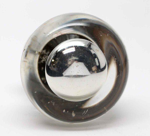 Door Knobs - Single Vintage Round Mercury Glass Door Knob