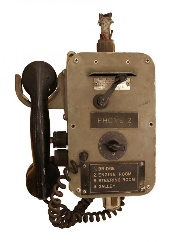 Electronics - Salvaged New York Tugboat Phone