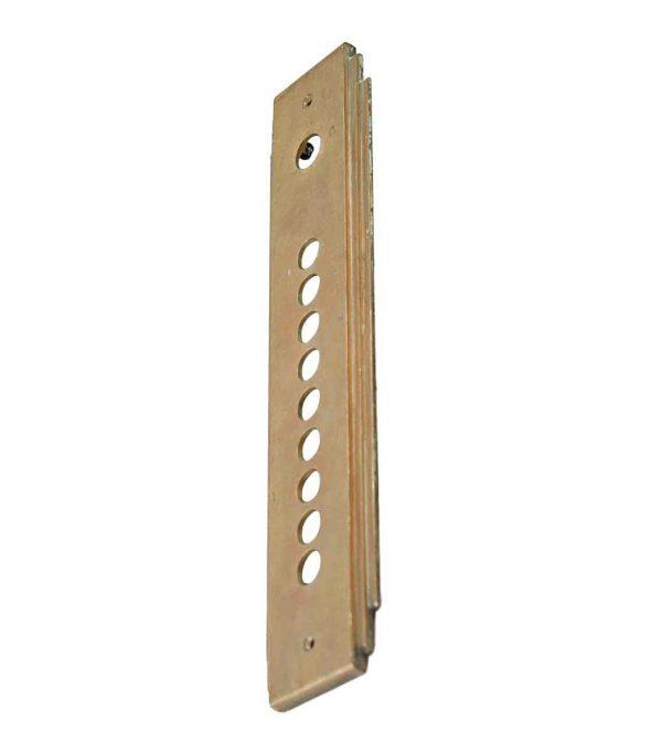 Elevator Hardware - Art Deco Brass Elevator Plate