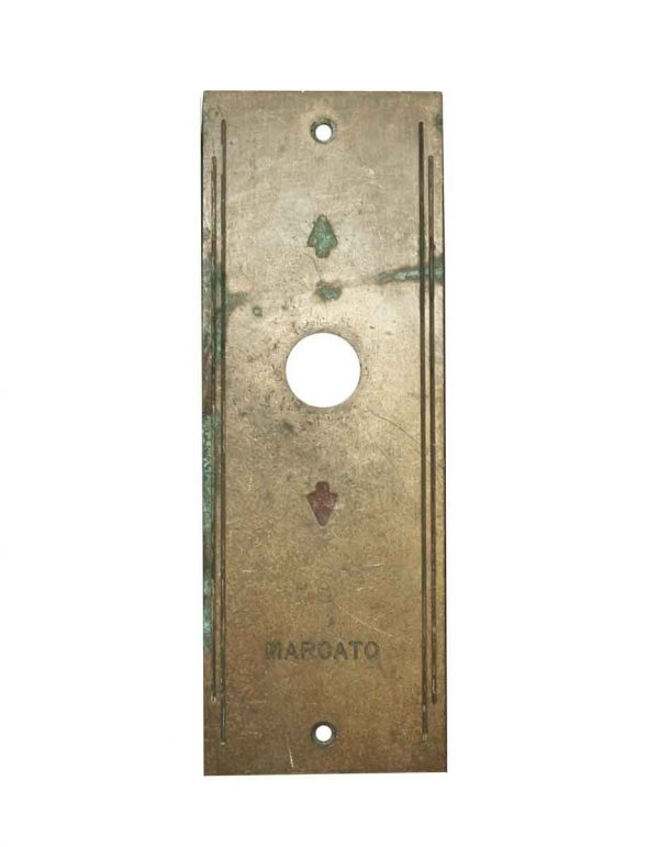 Elevator Hardware - Art Deco Elevator Indicator Plate