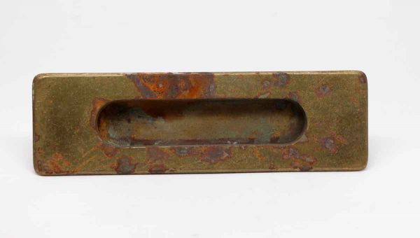Mail Hardware - Antique Brass Mail Slot Set