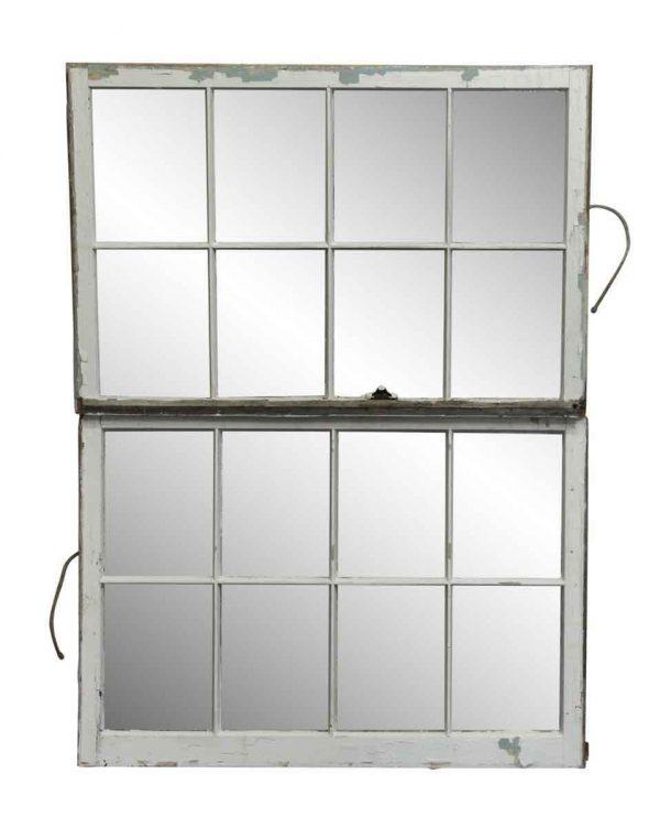 Reclaimed Windows - Pair of Double Wood Frame Windows