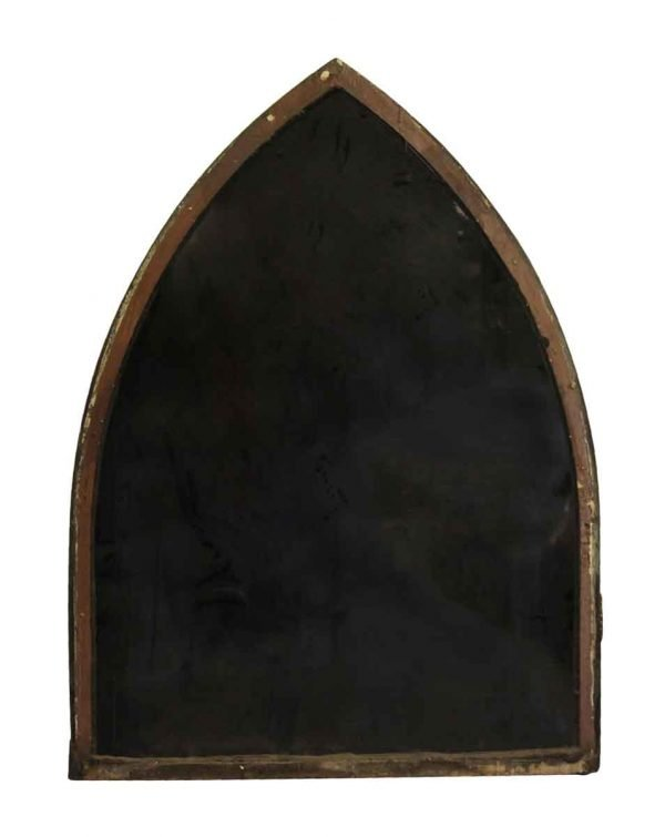 Reclaimed Windows - Wooden Framed Arched Window with Peak