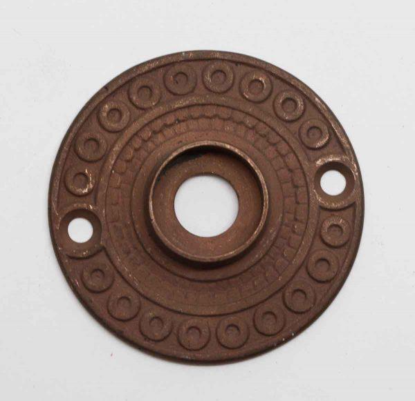 Rosettes - Antique Concentric Motif Bronze Rosette