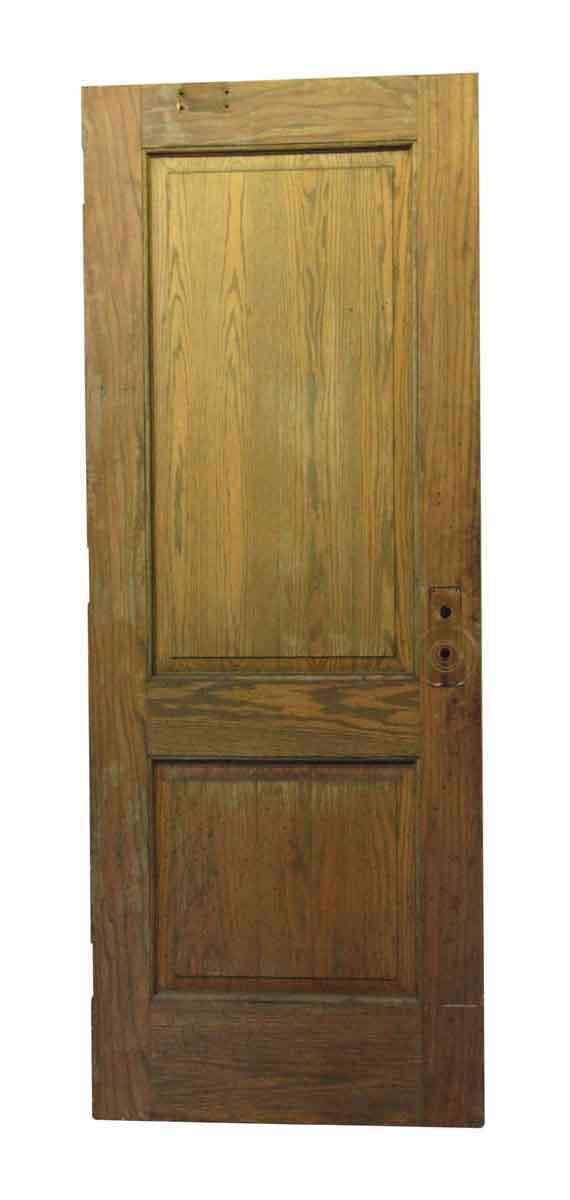 Standard Doors - Medium Wood Tone Double Panel Door