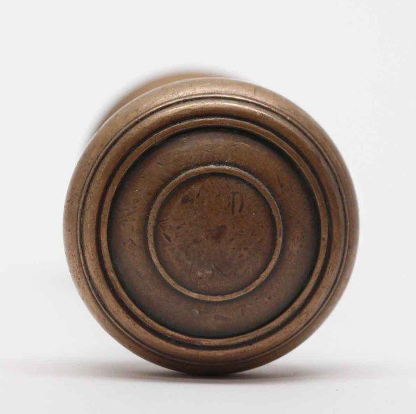 Door Knobs - Cast Bronze Concentric Door Knobs