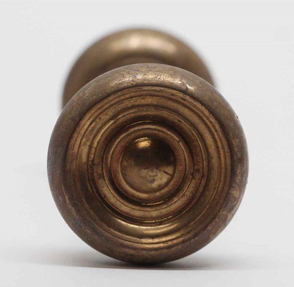 Door Knobs - Concave Brass Concentric Door Knobs
