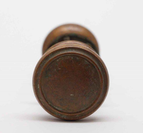 Door Knobs - Flat Top Bronze Concentric Door Knobs with Rosettes