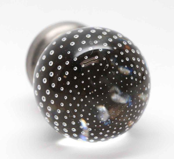 Door Knobs - Pierpont Manufactured Glass Bubbled Knob