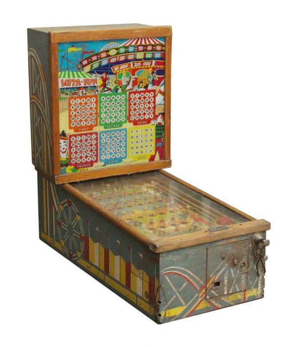 Electronics - Vintage Lotta Fun Arcade Pinball Machine