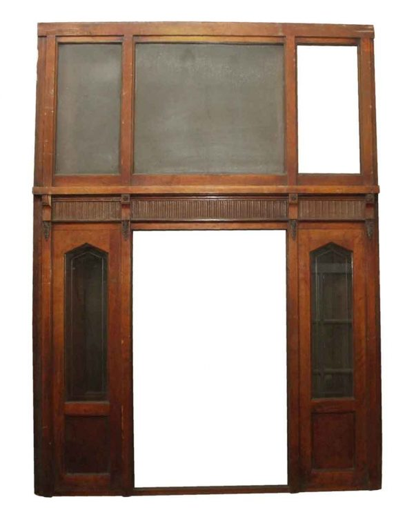 Moldings - Architectural Glass & Wood Wall Divider Panel