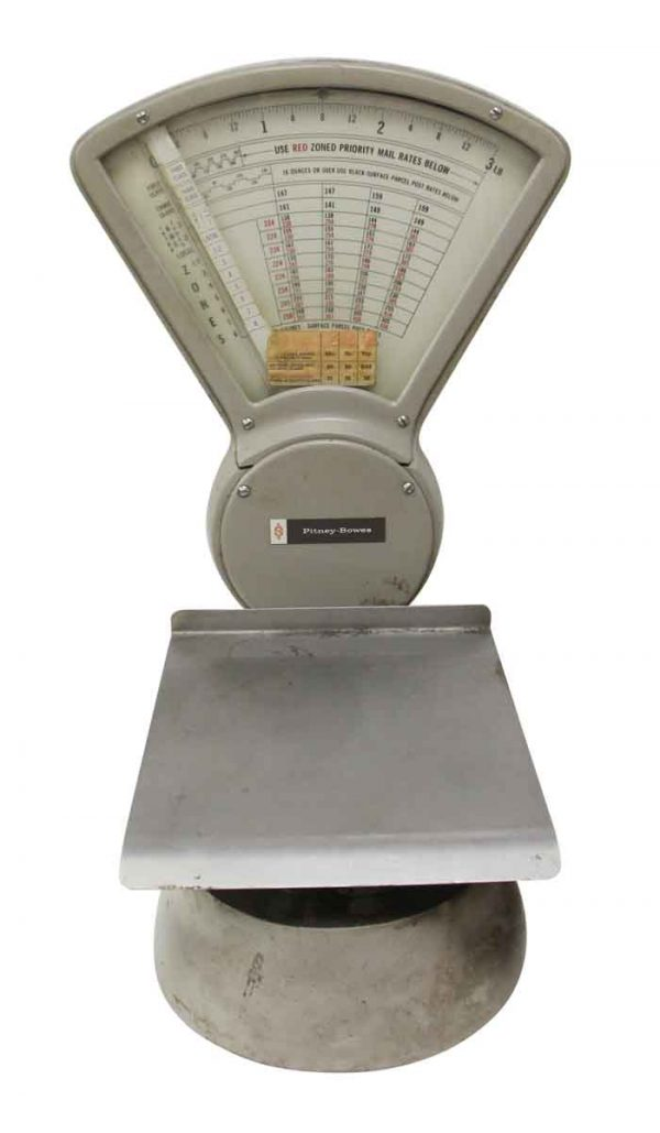 Scales - Olde Pitney Bowes Postal 3 lb. Scale