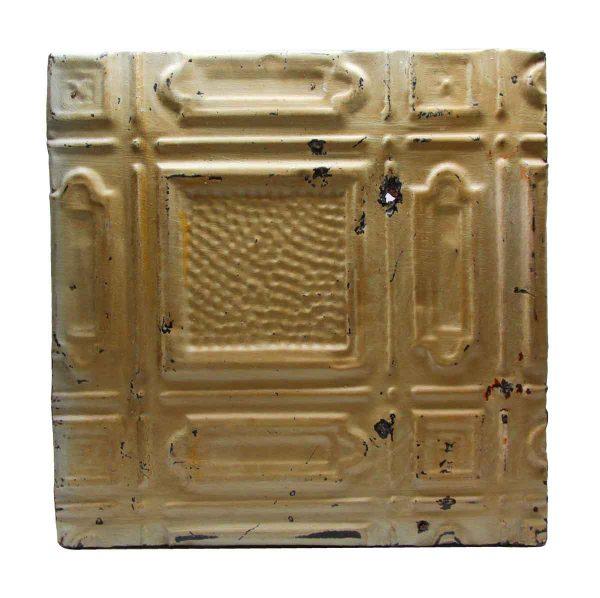 Tin Panels - Beige Antique Tin Panel
