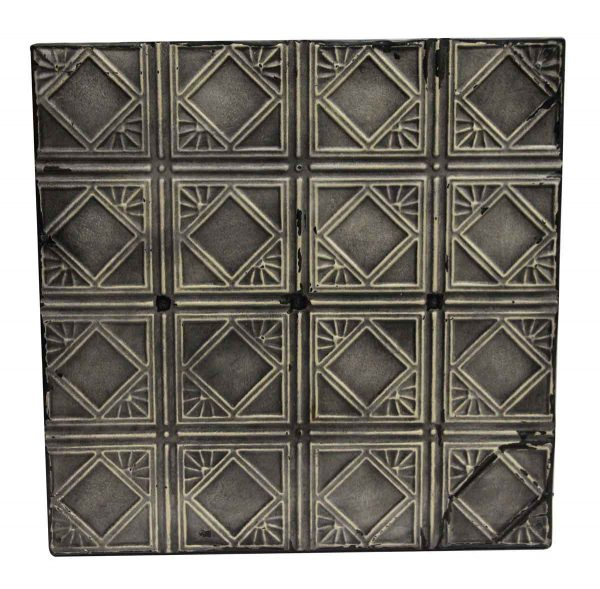 Tin Panels - Black Antique Tin Panel