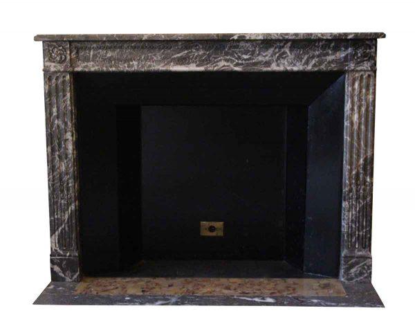 Waldorf Astoria - Waldorf Astoria Brown Breche Louis XVI Style Marble Mantel