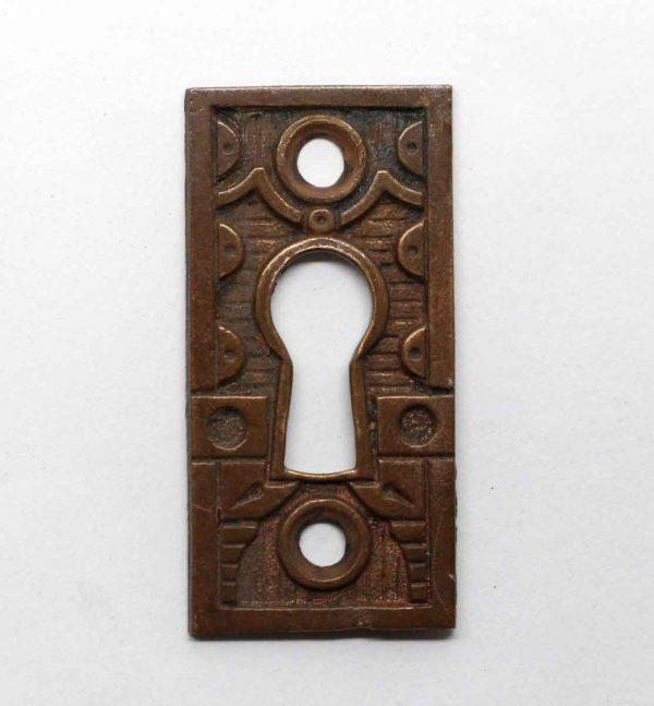 Keyhole Covers - Bronze Aesthetic Keyhole Plate