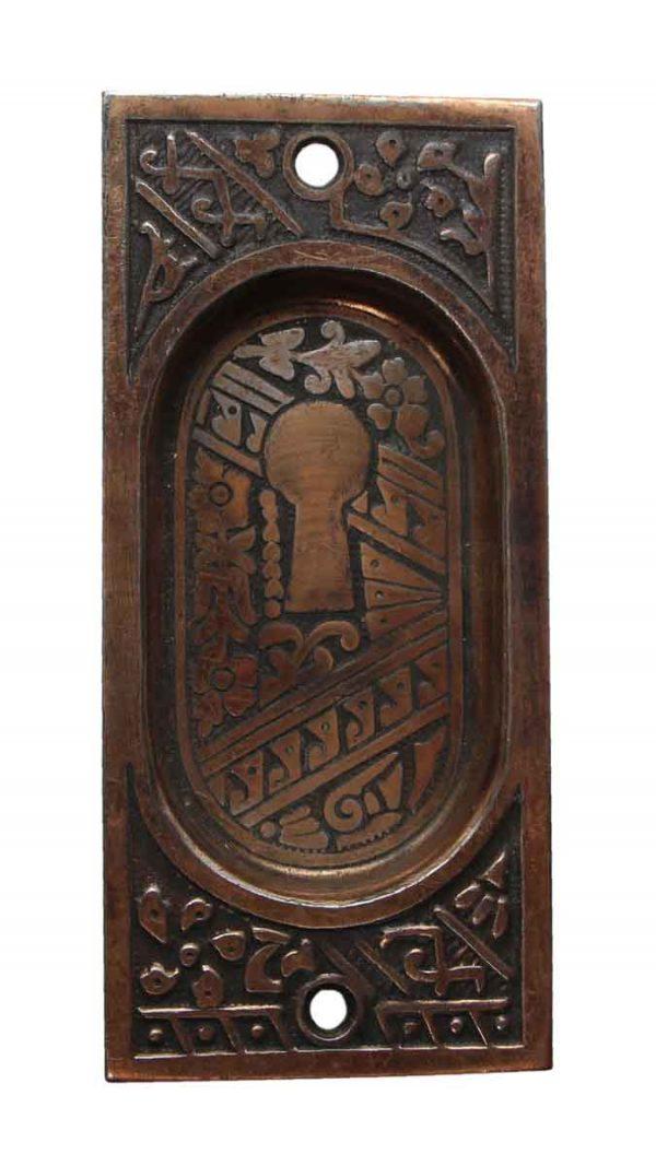 Pocket Door Hardware - Steel Aesthetic Pocket Door Pull