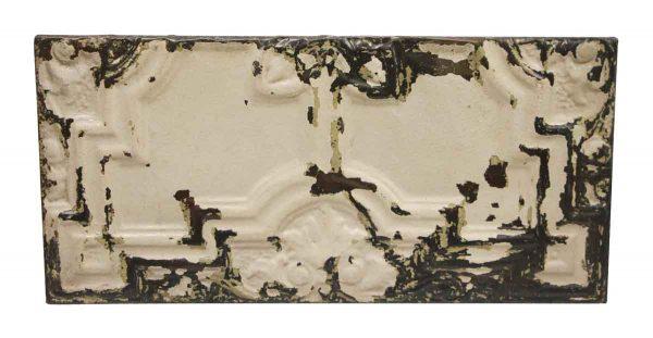 Tin Panels - Horizontal Decorative Cream Tin Panel