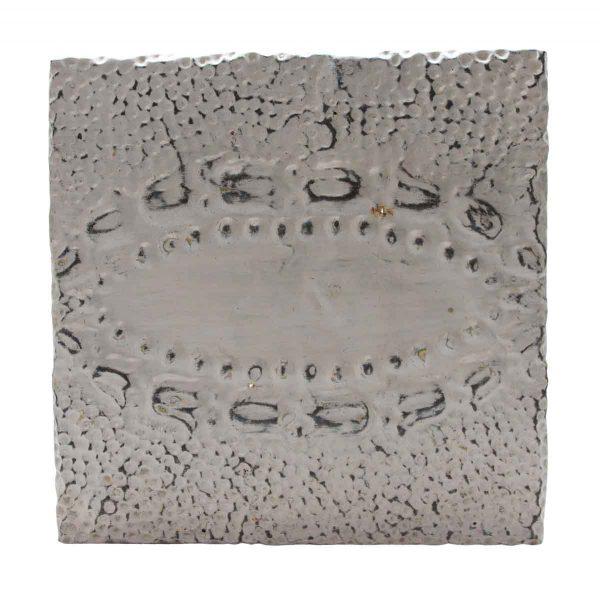 Tin Panels - White Tin Panel with Oval Center