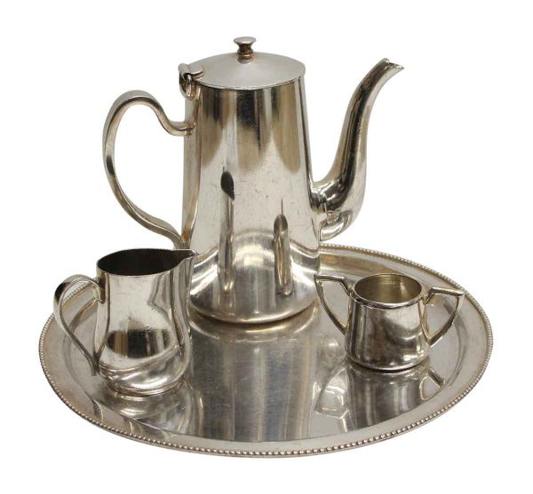 Waldorf Astoria - Waldorf Astoria 4 Piece Silver Plated Tea Set
