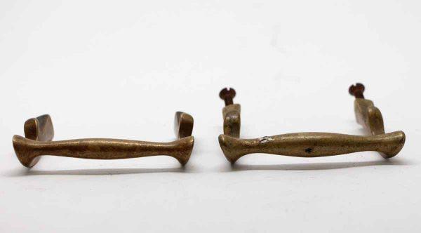 Cabinet & Furniture Pulls - Antique Bronze Pair of Drawer Handle Pulls