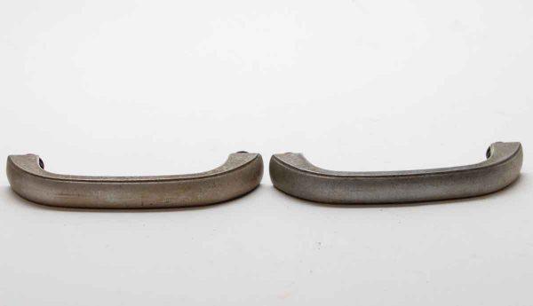 Cabinet & Furniture Pulls - Pair of Vintage Aluminum Drawer Pulls